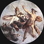 Spranger, Bartholomäus - Hermes and Athena - c. 1585.jpg