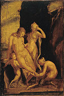 Spranger, Bartholomeus - Faun with Wounded Foot - Google Art Project.jpg