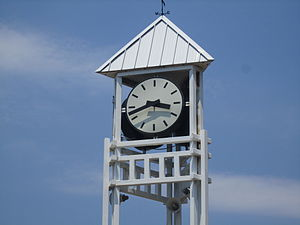 Springhill, Louisiana - Springhill clock tower