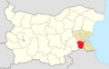Sredets Municipality Within Bulgaria.png