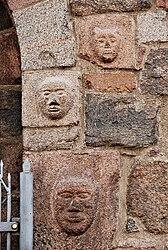St. Mary Church in Inowrocław - masks