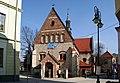 St. Nicholas Church and bell tower, 5 Mickiewicza street, City of Chrzanów, Lesser Poland Voivodeship, Poland.jpg