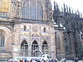 St. Vitus Cathedral south facade 4.JPG