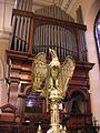 St James Church Sydney lectern.JPG