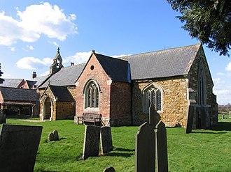 Goadby - Image: St John the Baptist church, Goadby, Leics geograph.org.uk 147921