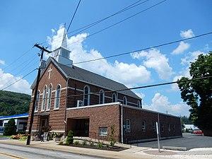 Cressona, Pennsylvania - Image: St Mark's UCC, Cressona PA