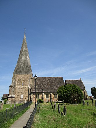 Billingshurst - Image: St Mary's Church, Billingshurst