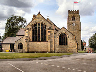St Michaels Church, Middleton Church in Greater Manchester, England