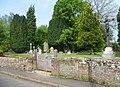 St Michael and All Angels Church, Church Lane, Pirbright (May 2014) (Graveyard).JPG