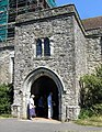 St Nicholas, Pluckley, Kent - Porch - geograph.org.uk - 328379.jpg