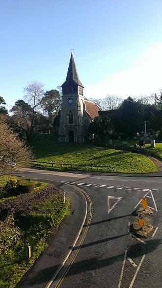 Wickham, Hampshire - St Nicholas Church in Wickham
