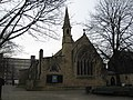 St Paul's Church with Christ, Broadwalk, Salford - geograph.org.uk - 1700773.jpg