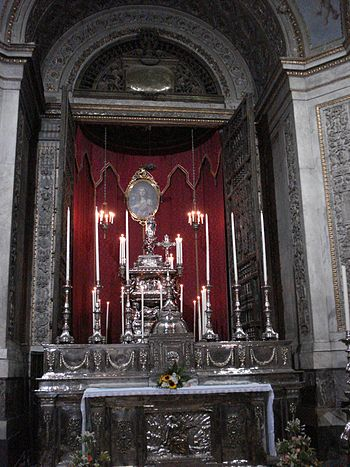 English: St Rosalia Chapel