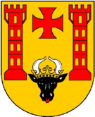 Das Wappen von Malchin