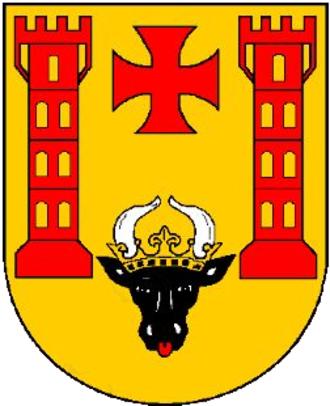 Malchin - Image: Stadtwappen Malchin