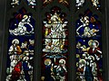 Stained Glass window behind the Altar of Snape Castle Chapel - geograph.org.uk - 467694.jpg