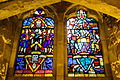 Stained glass windows in Crypt, Guildhall, City of London (7).jpg