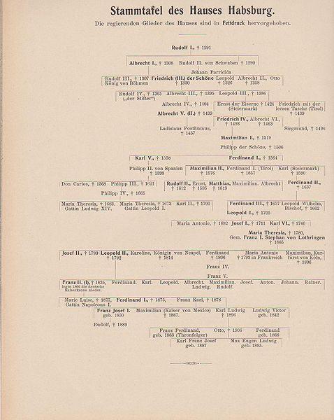Datei:Stammtafel des Hauses Habsburg 1908 ÖH 1-66.jpg