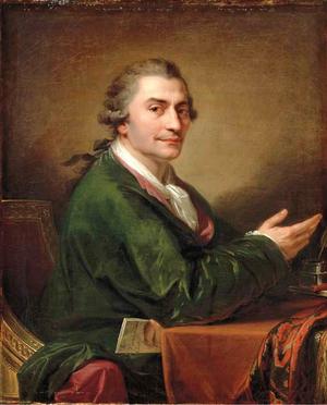 Stanisław Trembecki - Portrait by Johann Baptist von Lampi the Elder