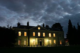 Stanmer House - Stanmer House on an August evening in 2006