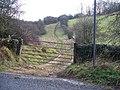 Start of the bridleway - geograph.org.uk - 1605292.jpg