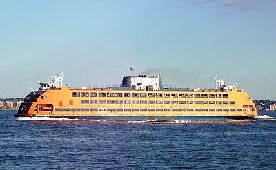 Staten Island Ferry Resist Daily News