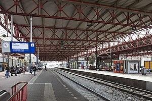 Eindhoven railway station - Image: Station Eindhoven interieur