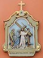 Stations of the Cross in the Church of Saint Dorothy in Cieksyn (inside) - 04.jpg