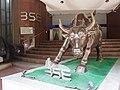 Statue of Bull in front of BSE Mumbai.jpg