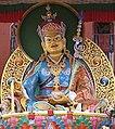 Statue of Padmasambhava (Guru Rinpoche) at Pema Osel Ling near Santa Cruz, CA.jpg