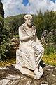 Statue philosophe assis Gortyn Crete.jpg