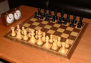 Strategy game - Chess is one of the most well-known and frequently played strategy games.