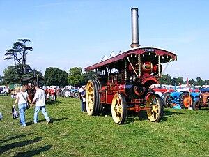 Henham Park - Steam Engines at the 2008 Henham Steam Rally