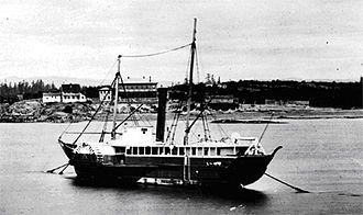 Maritime fur trade - The HBC steamship Beaver