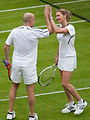 Steffi Graf and Andre Agassi (Wimbledon 2009) 2 (cropped).jpg