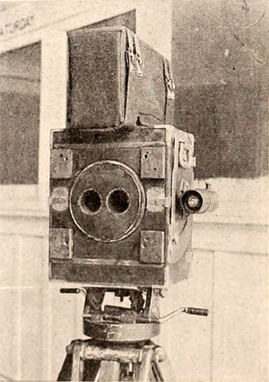 3D film - Fairall's 3D camera