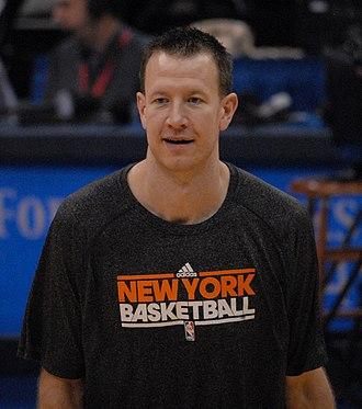 Steve Novak - Novak with the New York Knicks in 2012