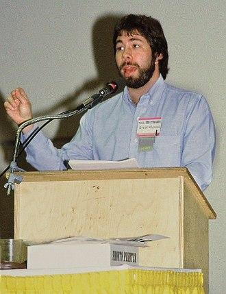 Steve Wozniak - Steve Wozniak in 1983