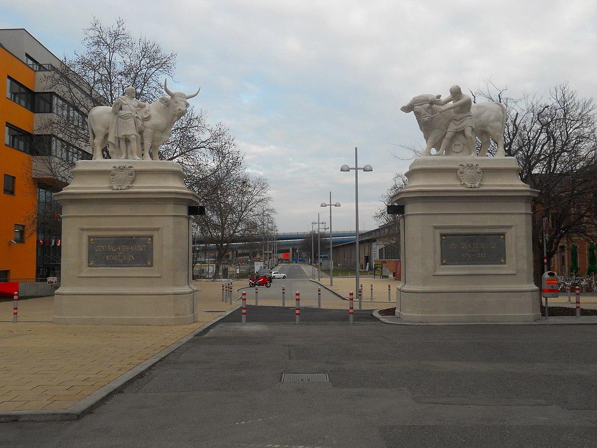 Zentral-Viehmarkt St. Marx - Portal