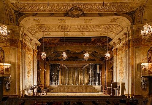 Stockholm Sweden Royal-Domain-of Drottningholm Drottningholms-Slottsteater