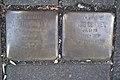 Stolperstein Duisburg 500 Hochfeld Paulusstraße 9 2 Stolpersteine.jpg