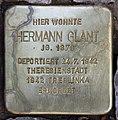 Stolperstein Duisburger Str 19 (Wilmd) Hermann Glant.jpg