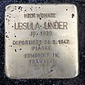 Stolperstein Nassauische Str 7 (Wilmd) Ursula Linder.jpg