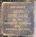 Stolperstein Schillerstr 14 (Charl) Julian Schwersenz.jpg