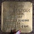 Stolperstein Westfälische Str 37 (Halsee) Amalie Salinger.jpg