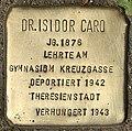Stolperstein für Dr. Isidor Caro (Köln).jpg