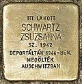 Stolperstein für Zsuzsanna Schwartz (Miskolc).jpg