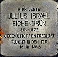 Stolpersteine Köln, Julius Israel Eichengrün (Lübecker Straße 22).jpg