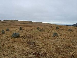 Burnmoor stone circles - White Moss stone circles