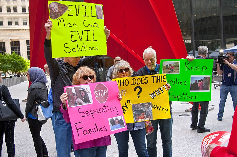 File:Stop Separating Immigrant Families Press Conference and Rally Chicago Illinois 6-5-18.jpg